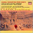 Choral Favorites from King's by George Frederick Handel, Johann Sebastian Bach, Franz Joseph Haydn, Henry Purcell and Franz Schubert