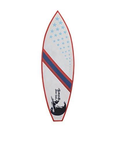 Jeffan Wooden Surfboard, Red