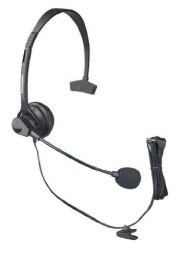 Panasonic Hands-Free Headset With Comfort Fit Headband For The Panasonic Kx-Tg6582T - Kx-Tg6583T Dect 6.0 Plus Link-To-Cell Bluetooth Convergence Solution And The Kx-Tga651 Handset