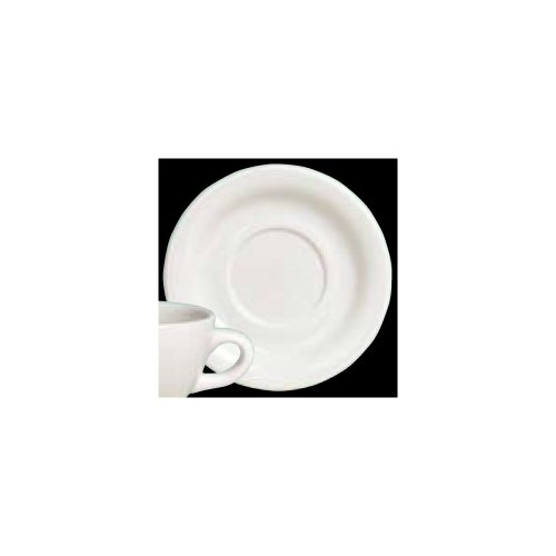 Steelite A100P069 Anfora White 5-1/2 Saucer - 24 / CS steelite a100p069 anfora white 5 1 2 saucer 24 cs