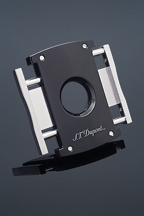 ST Dupont - Tagliasigari MaxiJet - Noire et Chrome Originale 3265
