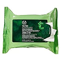 The Body Shop Tea Tree Cleansing Wipes, 25 wipes by The Body Shop