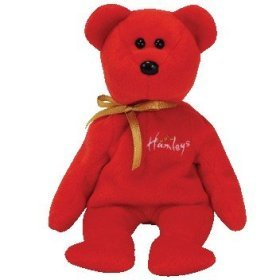 TY Beanie Baby - HAMLEY the Bear (UK Hamleys Store Exclusive)