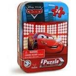 Disney's Pixar Car's 24 Piece Puzzle in Tin 7 x 5