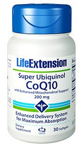 Life Extension Super Ubiquinol Coq10 With Enhanced Mitochond