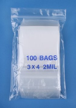Images for SE Self Locking Bag 2MIL, 3in X 4in (500 pack)