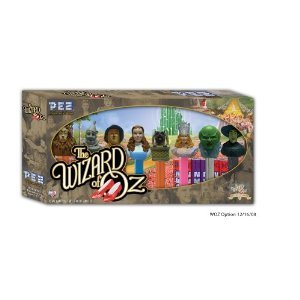 PEZ Wizard of Oz Collector's Series Set Includes: Lion, Tinman, Scarecrow, Dorothy, Toto, Glinda, Oz and Wicked Witch