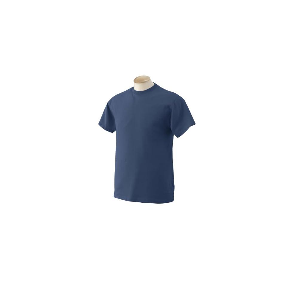 Fruit of the Loom   5.6 oz. Heavy Cotton T Shirt  XL,DENIM [Apparel
