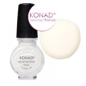 vernis konad nail art blanc special stamping 11 ml