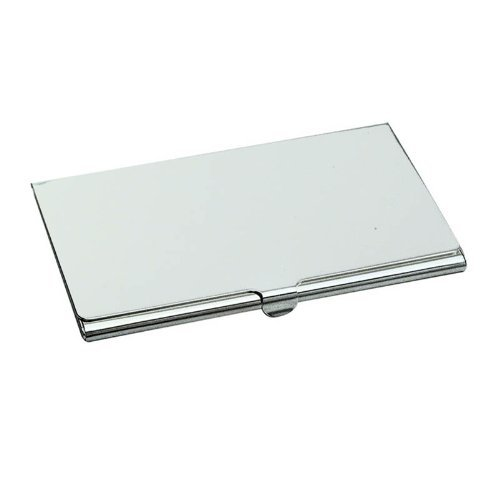 Genuine Silver Plated Business or Credit Card Case/Holder