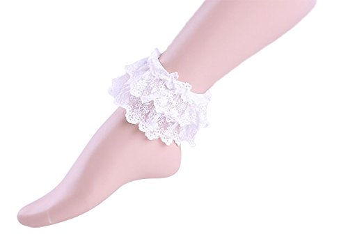 AvaLolita Japanese Lori Lovely Lace Foot Ring Bracelets Lolita Accessories