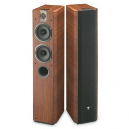 Focal Chorus 714V Floorstanding Speaker - Black Ash (Single Speaker)