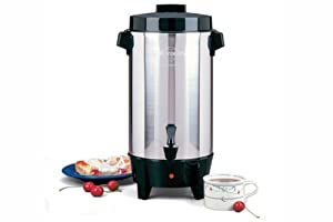 Coffee Maker For Large Party : Amazon.com: West Bend 58002 12-42 Cup Automatic Party Perk Coffee Urn: Large Coffee Maker ...