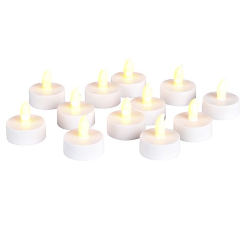 Everlasting Glow 12-Piece Candles With Super Bright Led