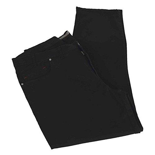 Calzone pantalone taglie forti uomo Maxfort SAXON stretch - Blu scuro, 64 GIROVITA 128 CM