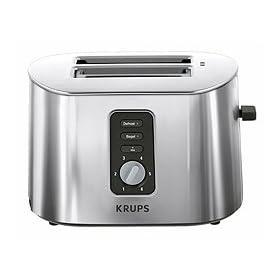 Krups TT6170 Stainless-Steel 800-Watt 2-Slice Toaster
