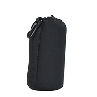 Charm & Magic Large Neoprene Soft Pouch Case for DSLR Camera Lens (Canon, Nikon, Pentax, Sony, Olympus, Panasonic)