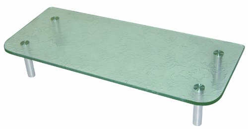 Luxo Marbre KGREC 3615 FR Tempered Glass Shelf for Kitchen, Frosted