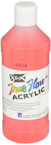 Sax True Flow Medium-Bodied Acrylic Paint - Pint - Fire Red