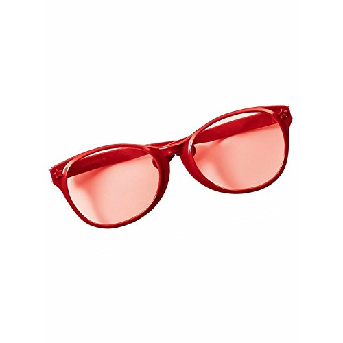 Red Jumbo Glasses