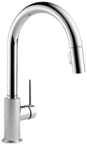 Delta 9159-DST Single Handle Pull-Down Kitchen Faucet, Chrome