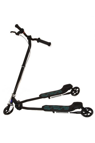 Slider The Unscooter Scooter - 8yrs to Adult, Black