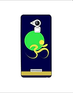 coolpad note 3 lite nkt-04 (60) Mobile Case by Mott2 - Blue Green Yello Spiri... (Limited Time Offers,Please Check the Details Below)