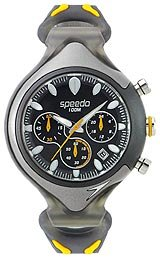 Speedo Analog Chrono Black Dial Men's watch #SD55161BX