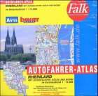 Falk Autofahrer-Atlas Rheinland