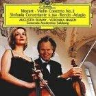 Mozart: Violinkonzert 2, Sinfonia Con...