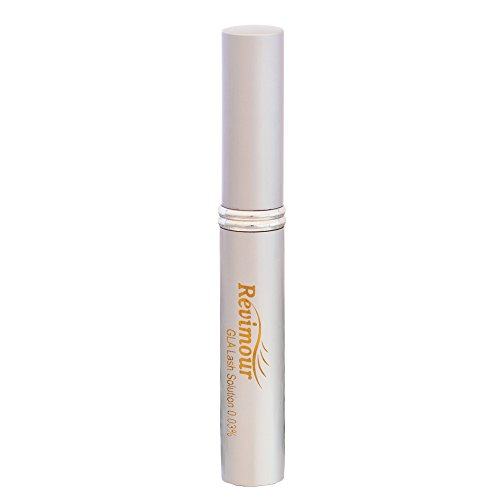 Omiera Labs Revimour - Eyelash Growth, Eyelash Enhancer, Eyelash Conditioner, and Eyebrows Growth Treatment Serum-Make a lasting impression with Longer, Thicker & Darker Lashes (0.27 fl oz)