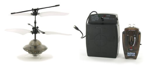 Intelli UFO Mini Electric RTF Helicóptero con luz (color puede variar)