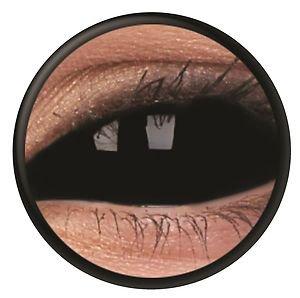 150a2958ff SCLERA black lente de contacto negro lentes scleras sabretooth