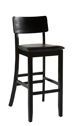 Linon Home Decor Torino Collection Contemporary Bar Stool, 30-Inch