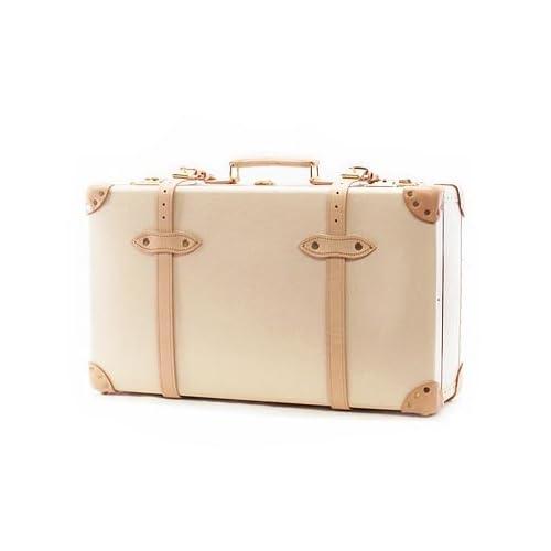 """(グローブトロッター) GLOBE TROTTER スーツケース SAFARI 26インチ """"Suit Case GTSAFCB26SC Ivory/Natural Brown [並行輸入品]"""