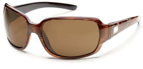 Suncloud Optics Cookie Sunglasses (Whiskey stripe
