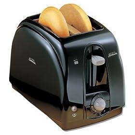 Sunbeam 3910100 2-Slice Wide Slot Toaster Black