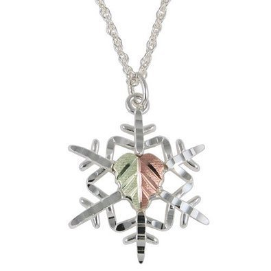black-hills-gold-snow-flake-sterling-silver-pendant-by-colemans-black-hills-gold-jewelry