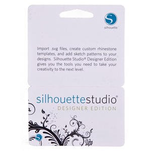 Silhouette Studio Designer Edition Software for Cameo