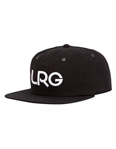 LRG Men's Branded Strap Back Hat, Black, One Size (Lrg Panel Hat compare prices)