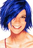 Spray In Wash Out Hair Color (Blue)
