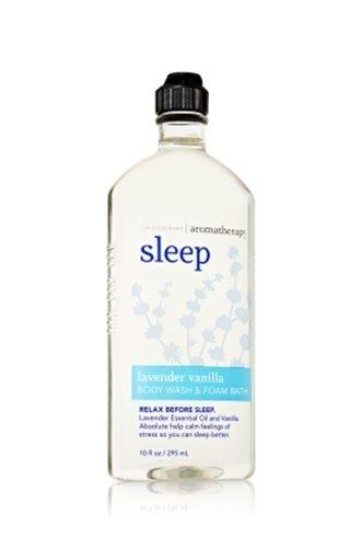 バス&ボディワークス アロマセラピー スリープ ラベンダーバニラウォッシュ&フォームバス Aromatherapy Sleep Lavender Vanilla Body Wash & Foam Bath