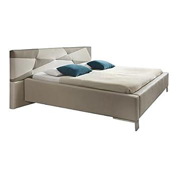 Acolchado Diseño cama de piel sintética cama doble 180x 200cm superficie Sino Max Xora Dormitorio cama