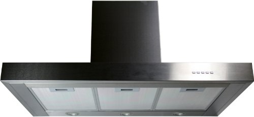 Yosemite Home Decor Mcrs36S Contemporary Series Canopy Hood, 36-Inch, Stainless Steel front-420533