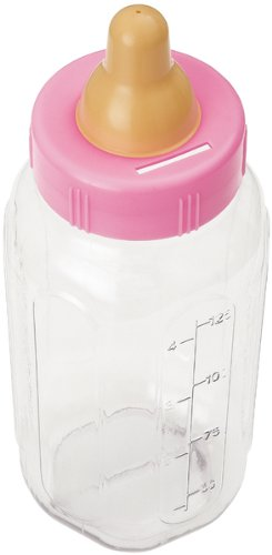11 Inch Baby Bottle Banks - Pink