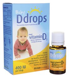 海外直送肘 Baby Vitamin D 90 Drops, 400 IU, 0.08 oz