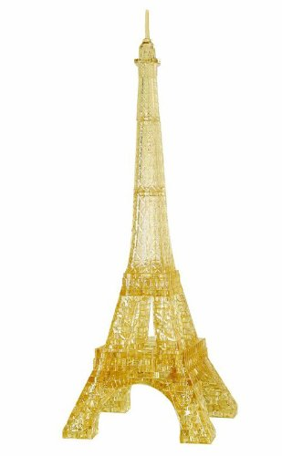 Original 3D Crystal Puzzle - Deluxe Eiffel Tower (Crystal Eiffel Tower compare prices)