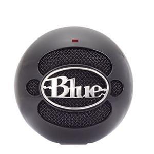 Gloss Black Blue Microphones Snowball Usb Microphone, 40Hz To 18Khz -