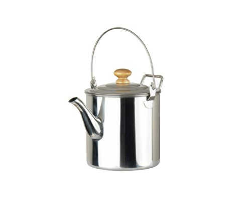 Out-D 2000Ml Camping Pot Outdoor Stainless Steel Kettle Coffee Pot