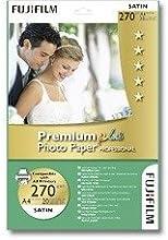 Comprar Fujifilm Premium Plus Photo Paper Prof. Satin 10x15 cm, 270g (20) - Papel fotográfico (270g (20), 270 g/m², 10x15 cm)